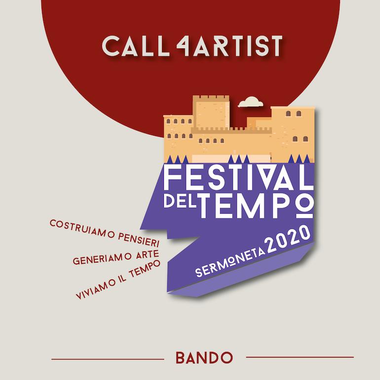 Bando Internazionale Residenze Festival del Tempo 2020
