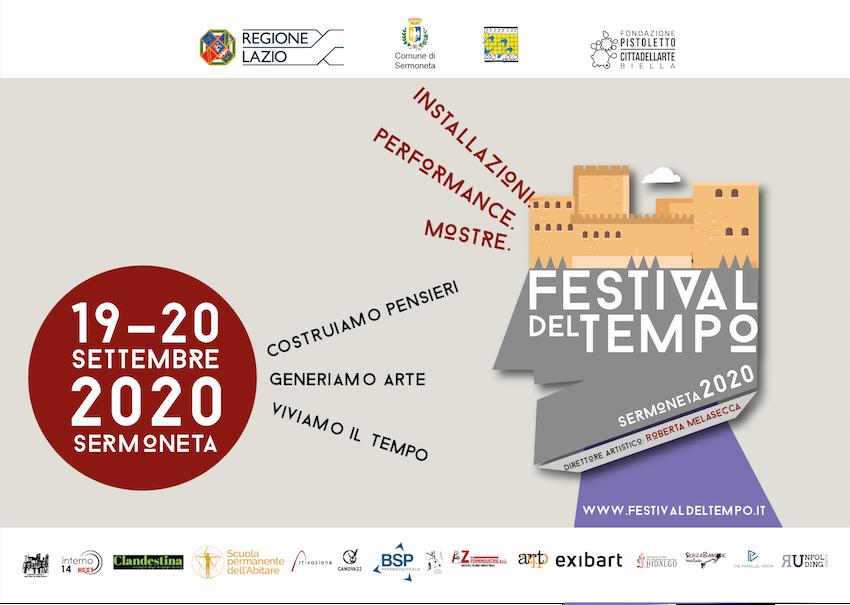 Programma Festival del Tempo 2020 – 19 settembre